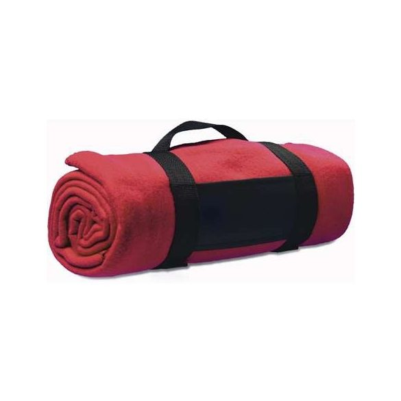 Polártakaró összefogó pánttal, piros
