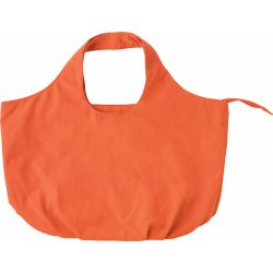 Strandtáska, vászon, narancs