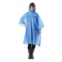 Esőkabát(poncsó) tokkal, kék