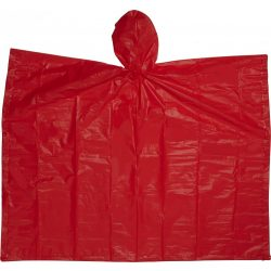 Esőkabát(poncsó) tokkal, piros