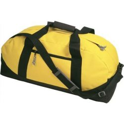 600D poliészter, Sport-, utazótáska, sárga