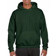 Gildan prémium kapucnis pulóver, forestgreen