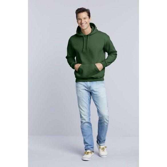 Gildan prémium kapucnis pulóver, maroon