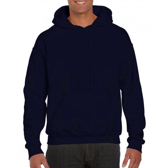 Gildan prémium kapucnis pulóver, sötétkék