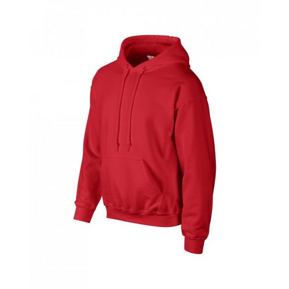 Gildan prémium kapucnis pulóver, piros