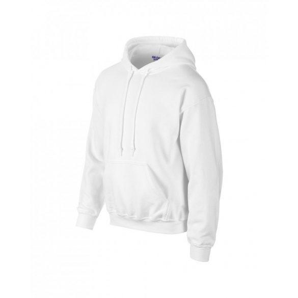 Gildan prémium kapucnis pulóver, fehér