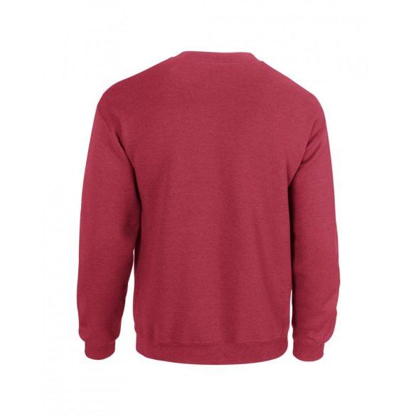 Gildan kereknyakú pulóver, antik cseresznyepiros