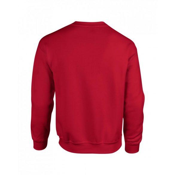 Gildan kereknyakú pulóver, cseresznye piros