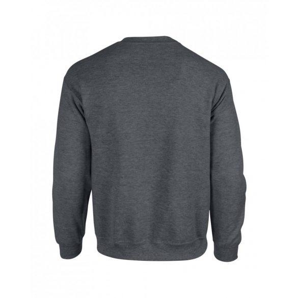 Gildan kereknyakú pulóver, dark heather