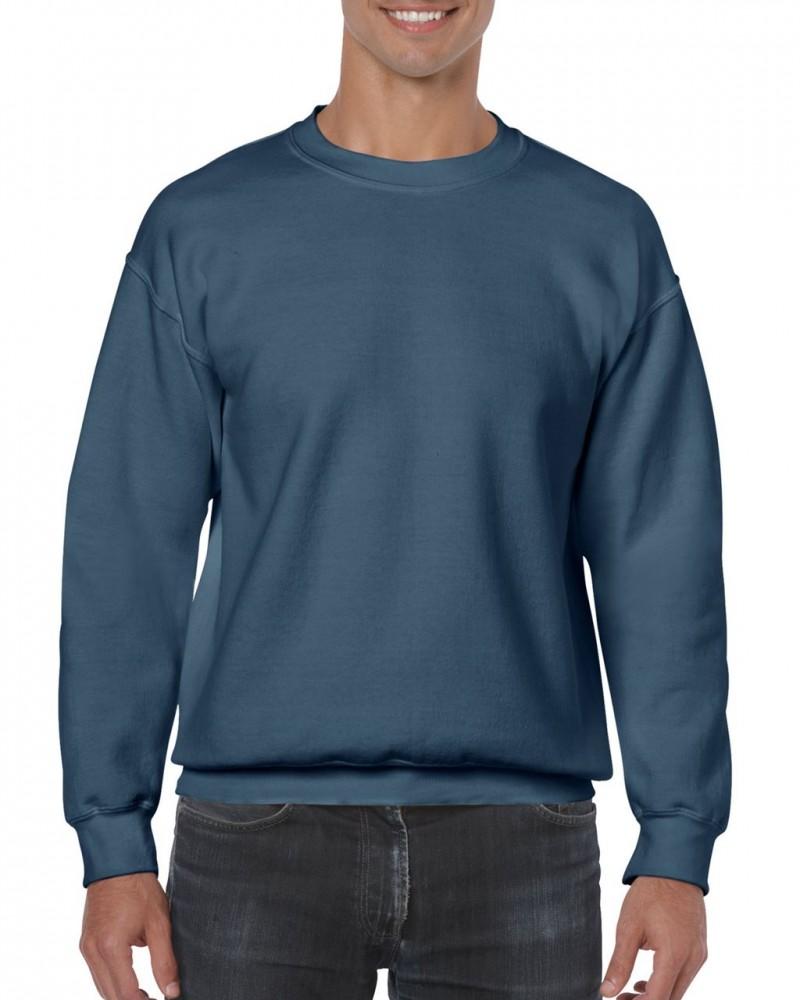 ce158cca39 Gildan kereknyakú pulóver, indigókék - poloplaza