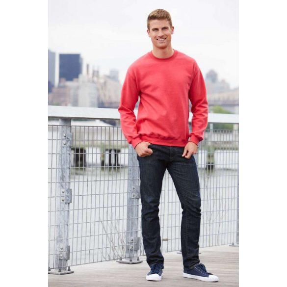 Gildan kereknyakú pulóver, indigókék