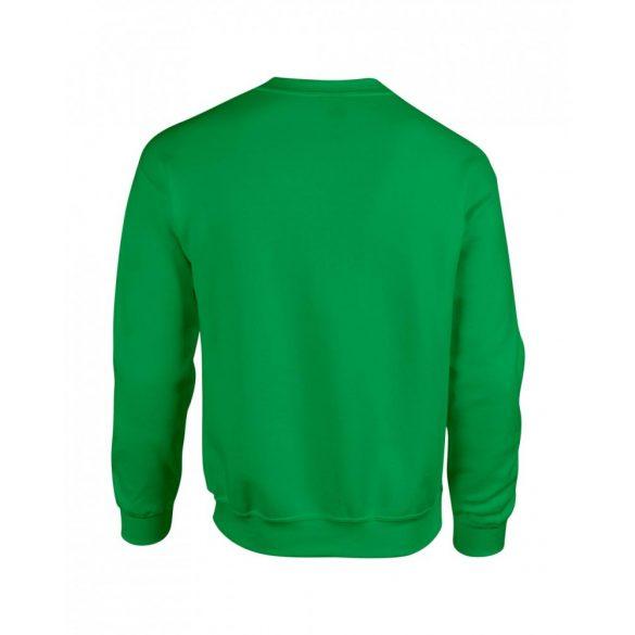 Gildan kereknyakú pulóver, írzöld