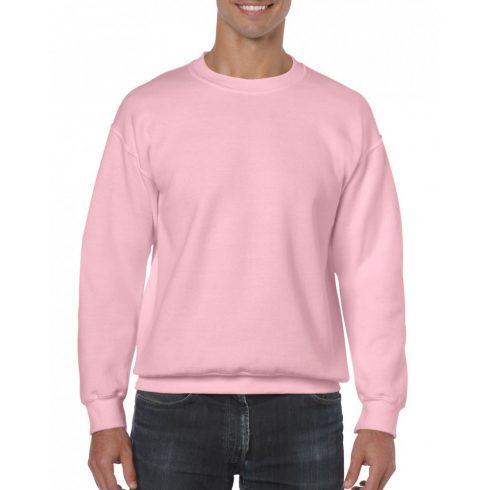 Gildan kereknyakú pulóver, light pink