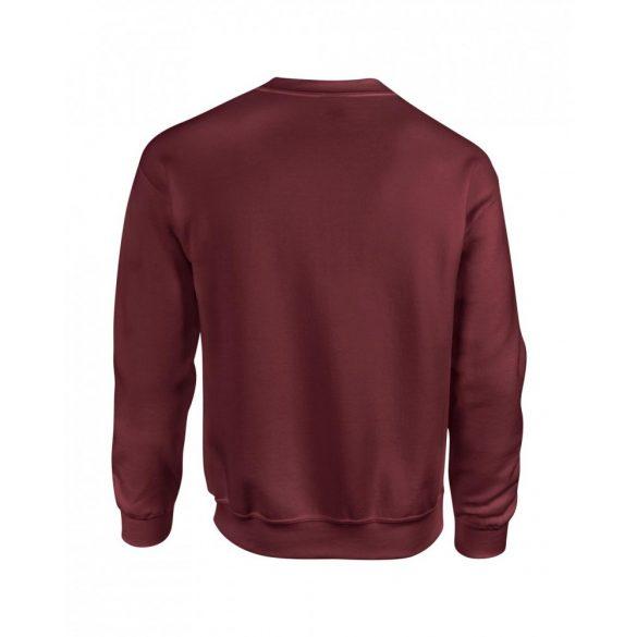 Gildan kereknyakú pulóver, maroon