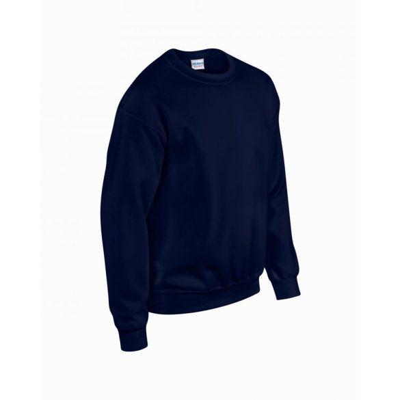 Gildan kereknyakú pulóver, sötétkék