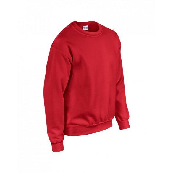 Gildan kereknyakú pulóver, piros