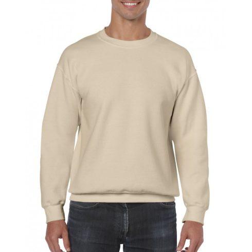 Gildan kereknyakú pulóver, sand