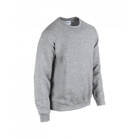 Gildan kereknyakú pulóver, sportszürke
