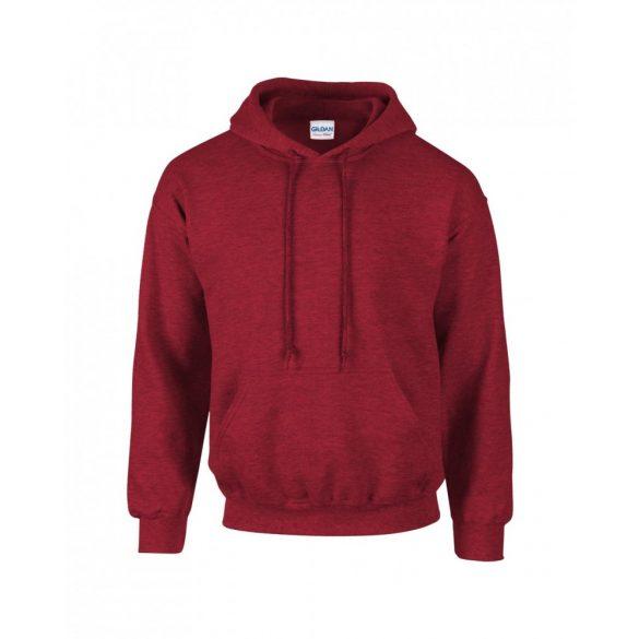 Gildan kapucnis pulóver, antik cseresznyepiros