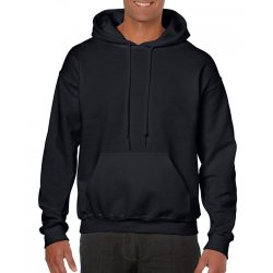 Gildan kapucnis pulóver, fekete
