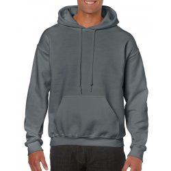 Gildan kapucnis pulóver, faszénszürke