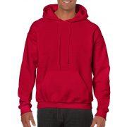 Gildan kapucnis pulóver, cseresznyepiros