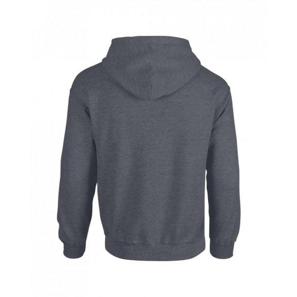 Gildan kapucnis pulóver, dark heather