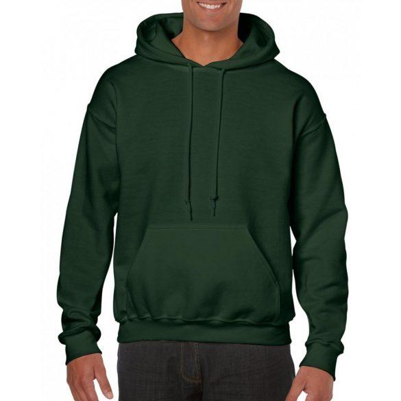 Gildan kapucnis pulóver, forestgreen