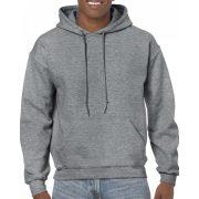 Gildan kapucnis pulóver, grafit heather