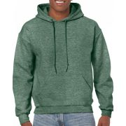 Gildan kapucnis pulóver, Heather Sport Dark Green