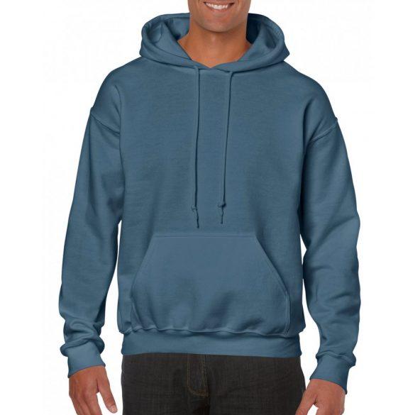 Gildan kapucnis pulóver, indigókék