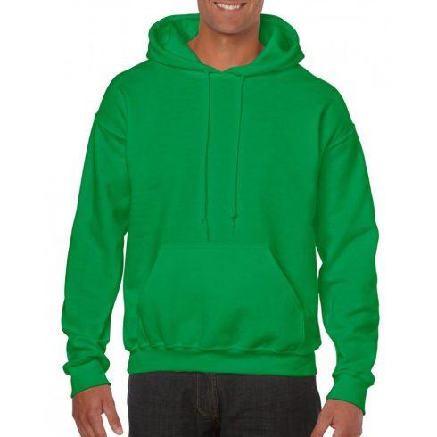 Gildan kapucnis pulóver, írzöld