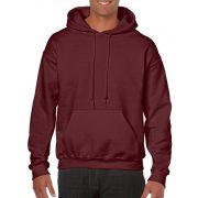 Gildan kapucnis pulóver, maroon