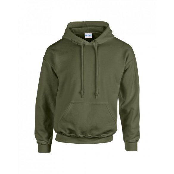 Gildan kapucnis pulóver, military