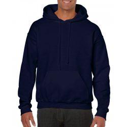 Gildan kapucnis pulóver, sötétkék
