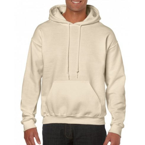Gildan kapucnis pulóver, sand