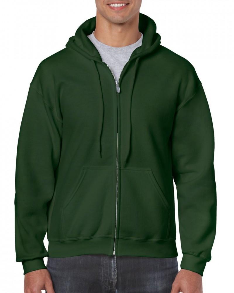 Gildan cipzáros-kapucnis pulóver d8f5d6360a