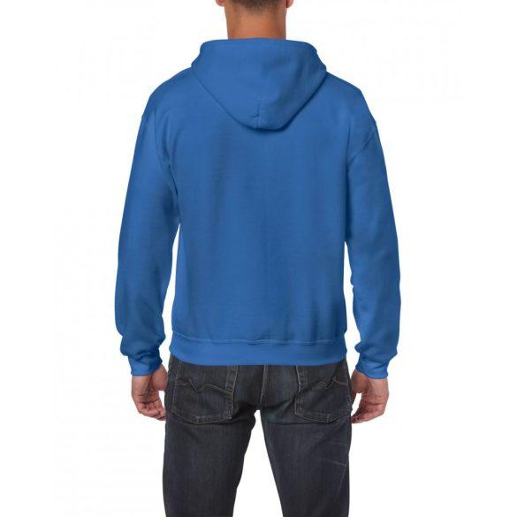 Gildan cipzáros-kapucnis pulóver, királykék