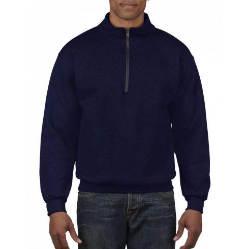 Gildan galléros pulóver, sötétkék