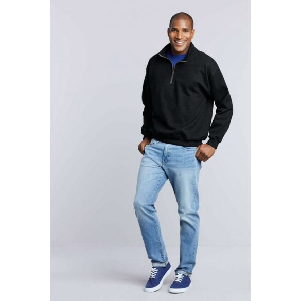 Gildan galléros pulóver, sportszürke