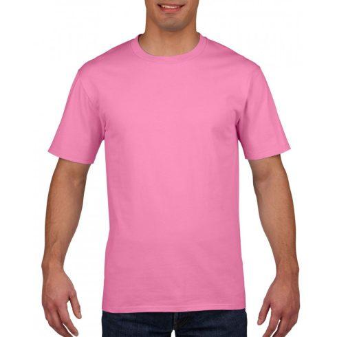 Gildan prémium pamut póló, azalea