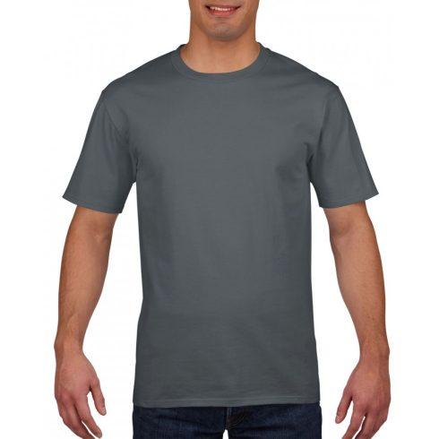Gildan prémium pamut póló, faszénszürke