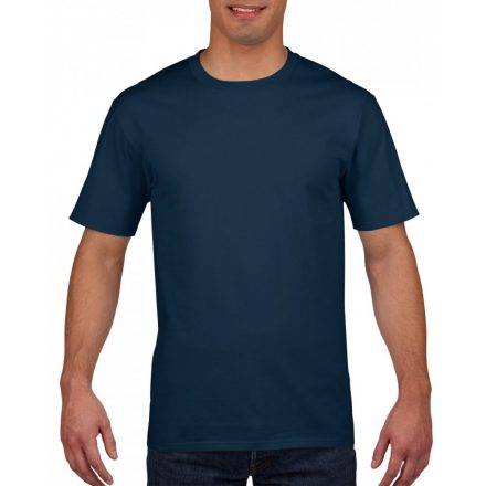 Gildan prémium pamut póló, sötétkék