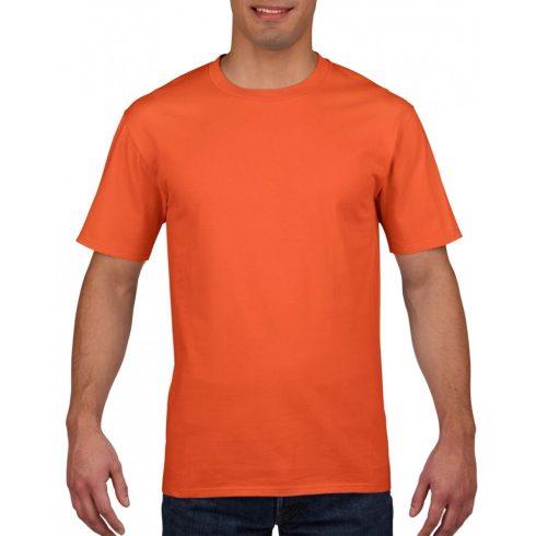 Gildan prémium pamut póló, narancs