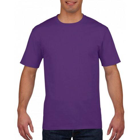 Gildan prémium pamut póló, lila