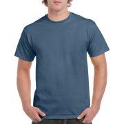 Gildan környakas póló, indigókék