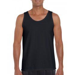 Gildan ujjatlan férfi póló, fekete