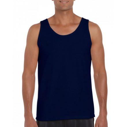 Gildan ujjatlan férfi póló, sötétkék