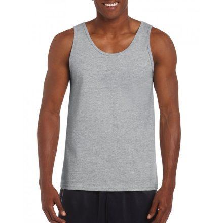 Gildan ujjatlan férfi póló, sportszürke