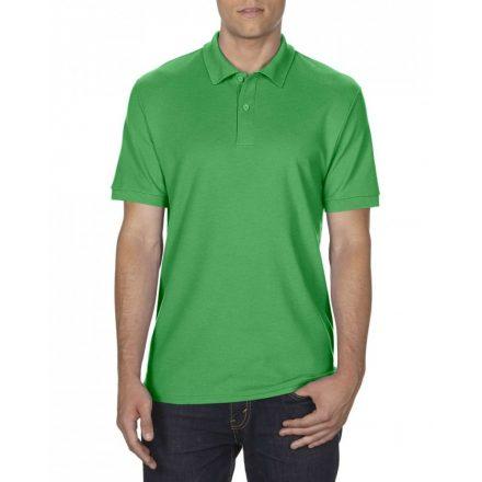 Gildan DryBlend férfi póló dupla piké anyagból, Irish Green